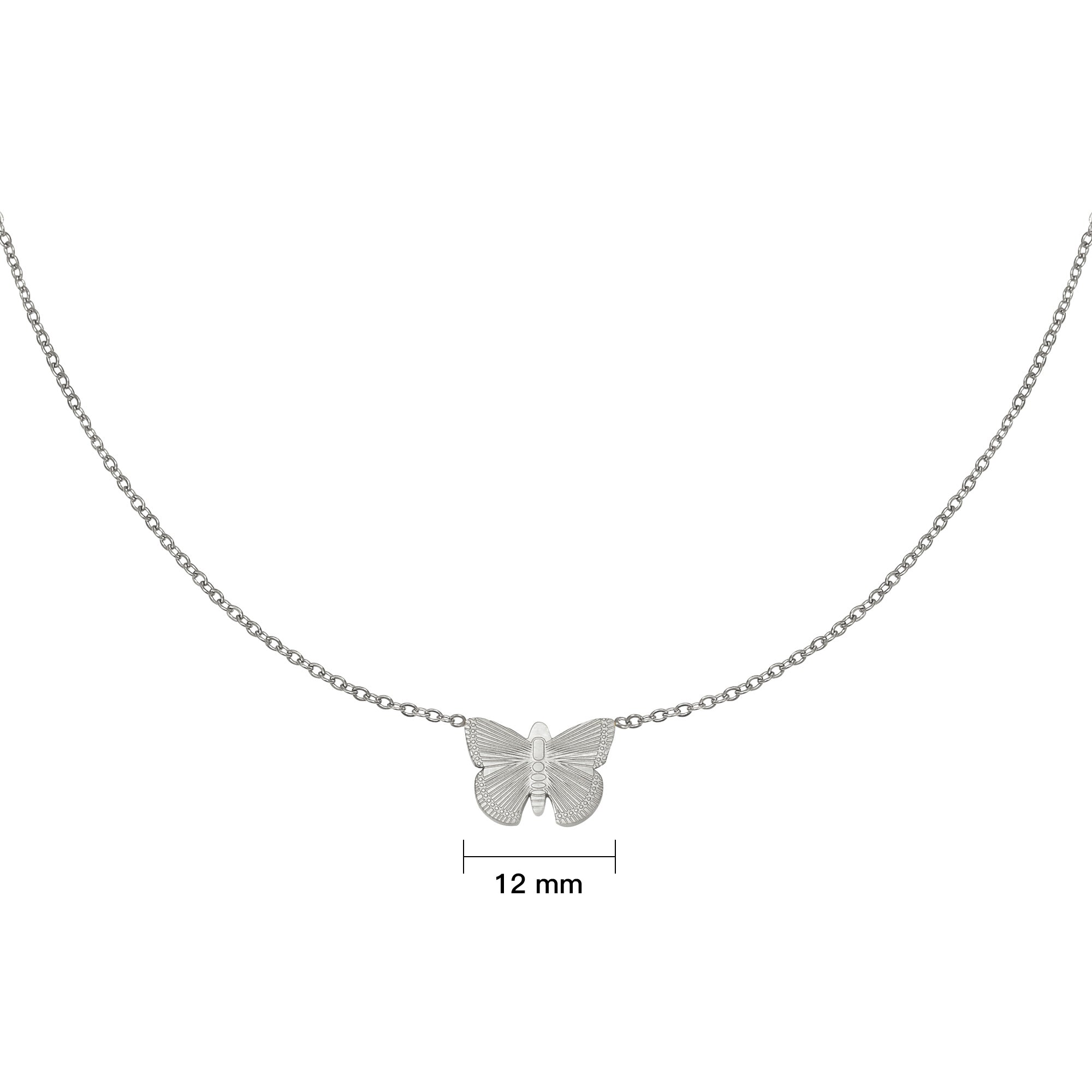 Necklace Butterfly Silver