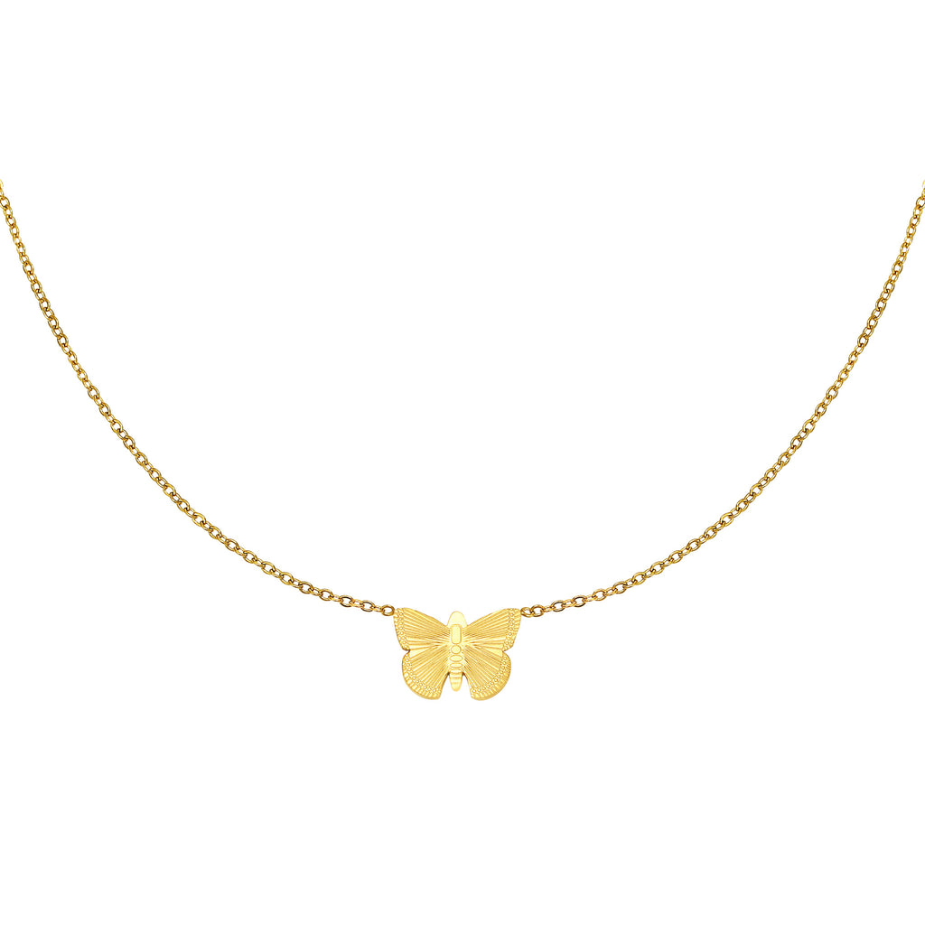 Necklace Butterfly Gold