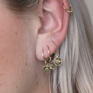Earring The Wolf Gold