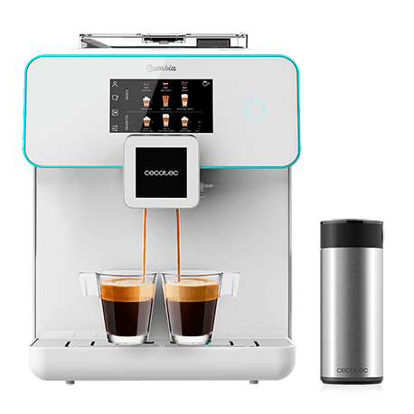 Cafetera Power Matic-Ccino 9000 Serie Bianca