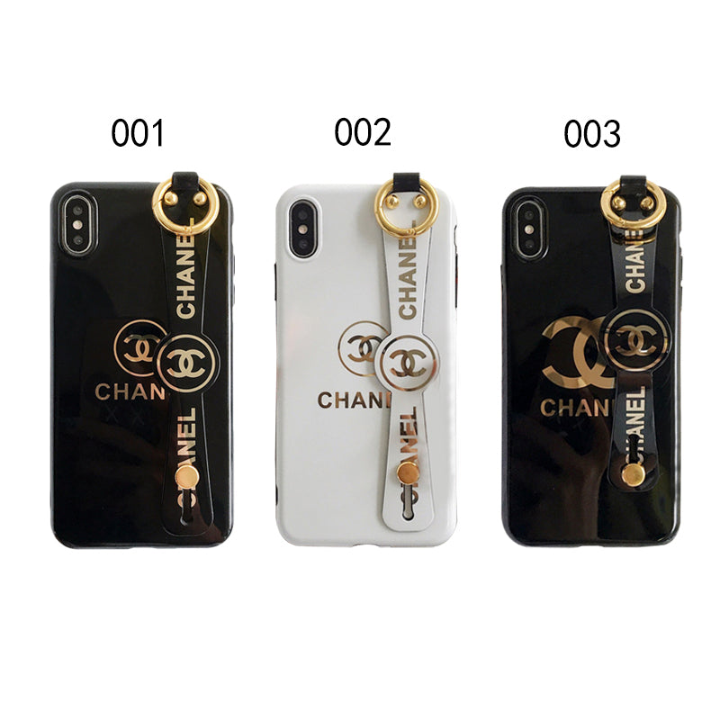 CHANEL(シャネル) ロゴ iPhone 12 Pro Max、12/12 Pro、12 mini、XS Max、XS、XR、X、7/8、7/8 Plus、6/6s、6/6s Plus ケース 3色