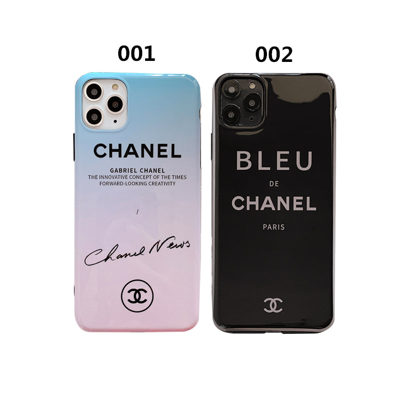 CHANEL(シャネル) パーソナリティ iPhone 12 Pro Max、12/12 Pro、12 mini、XS Max、XS、XR、X、7/8、7/8 Plus ケース 2色