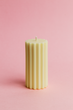 Mave Pillar Candle - Lemon