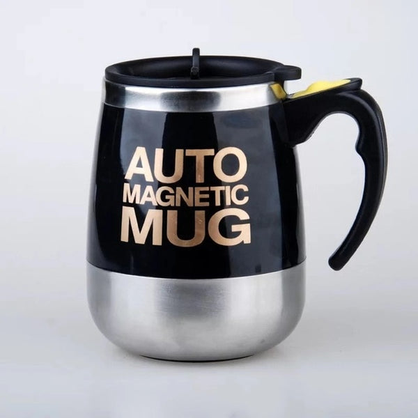 Automated Stirring Coffee Mug