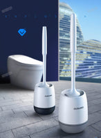 Self Cleaning Toilet Brush Set