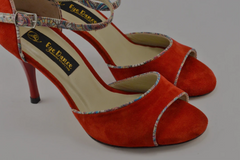 Tokyo Red Argentine Tango Shoes Women