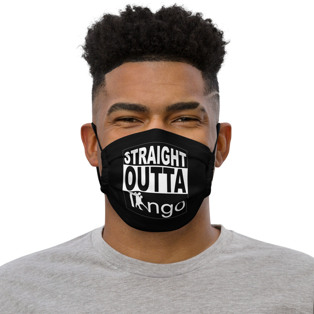 'Straight Outta Tango' Face Mask