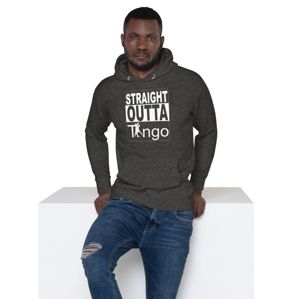 Straight Outta Tango Sweater- Grey
