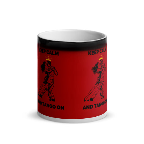 Keep Calm and Dance Tango/ Tango On Mug