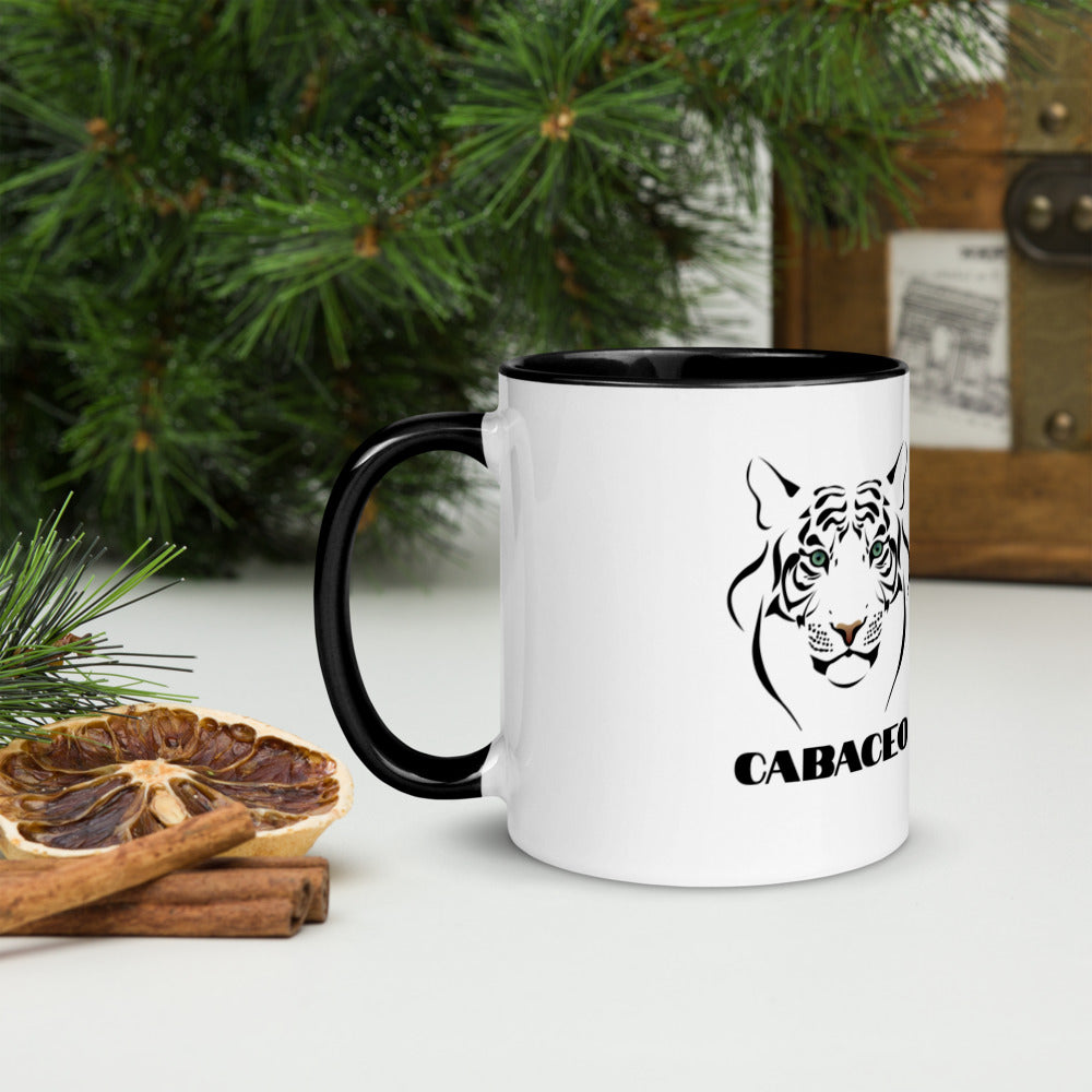 Tiger Cabaceo Mug with Color Inside