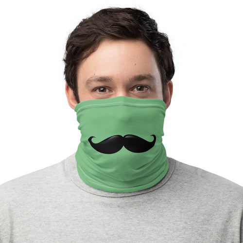 Green Gaiter with Mustache
