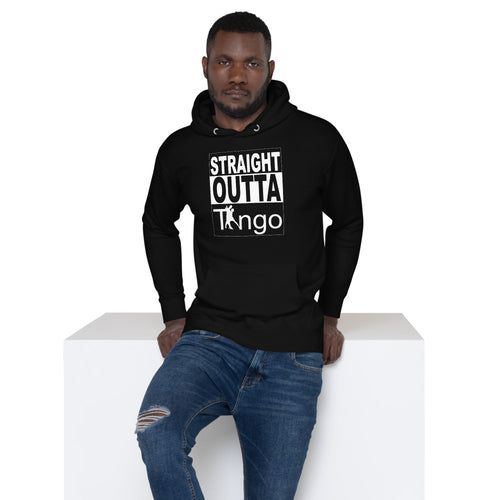 Straight Outta Tango Sweater- Black