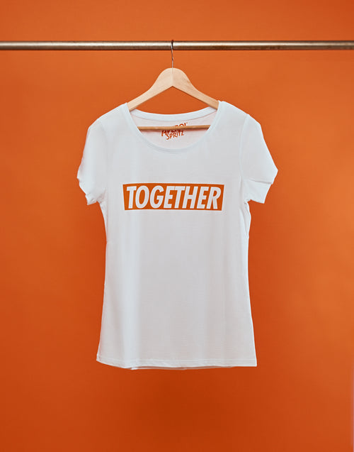 "'""Together"" t-shirt vrouwen"
