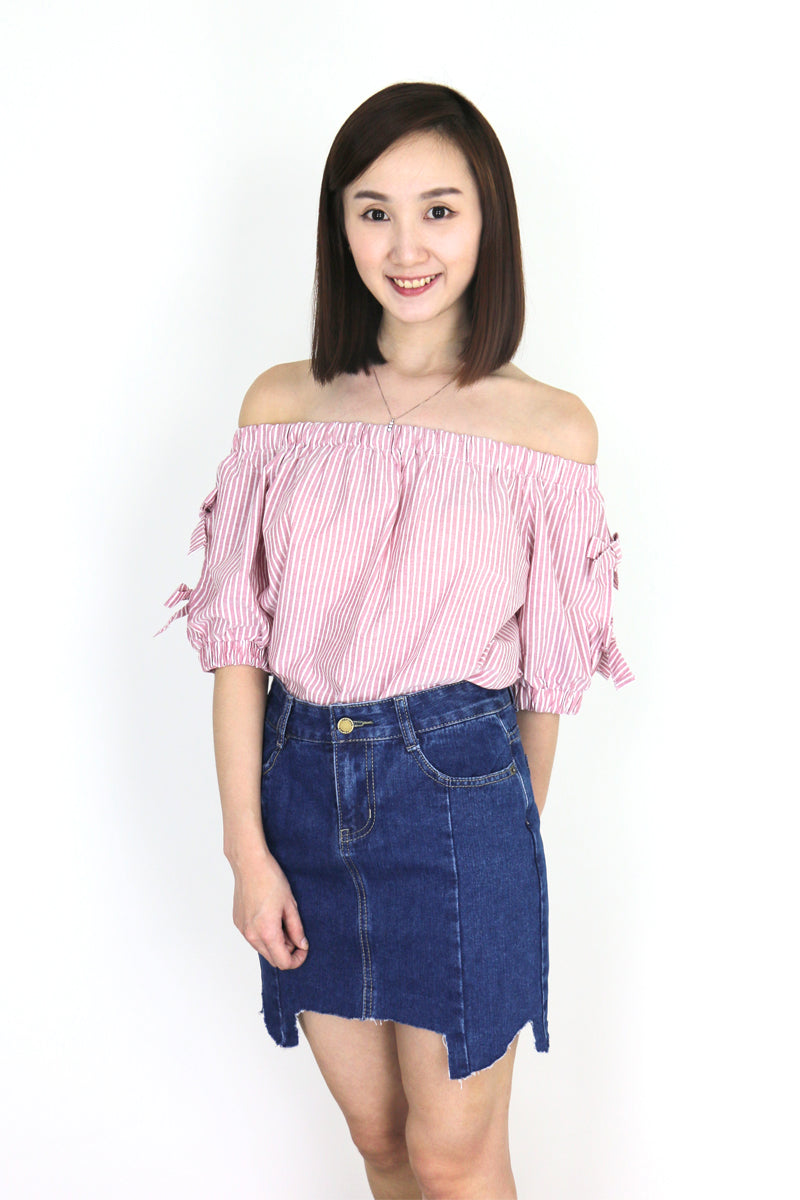 Elliana Denim Skirt