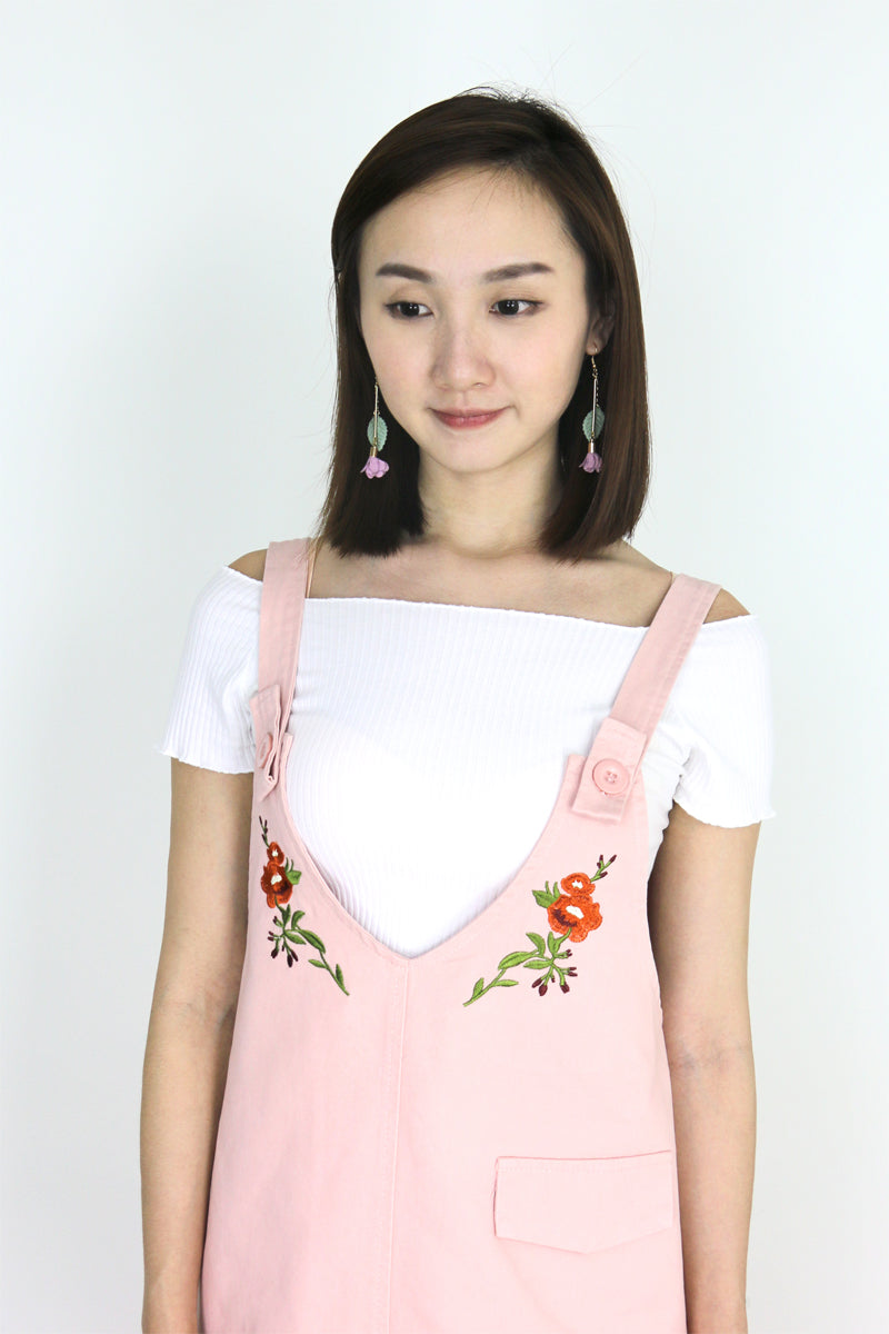 Raelyn Embroidery Pinafore