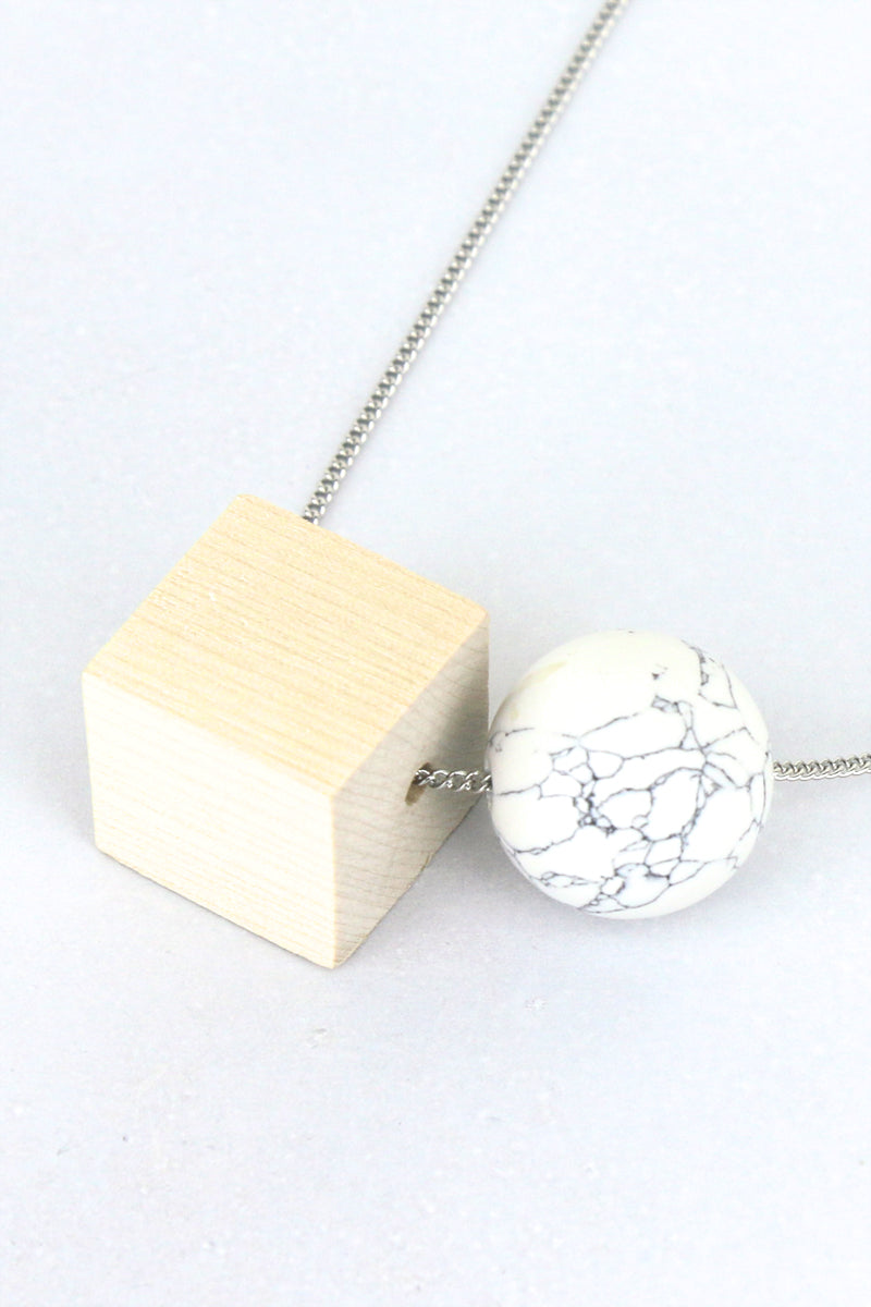 Elsa Geometric Necklace