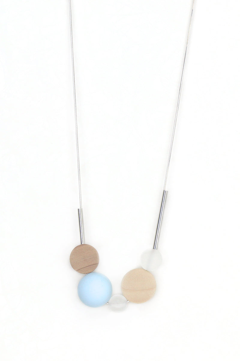 Serenity Geometric Necklace