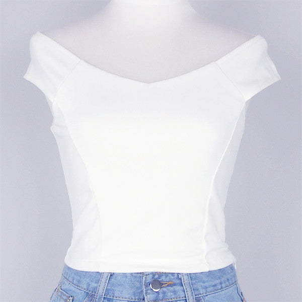 Alexandria Cropped Top