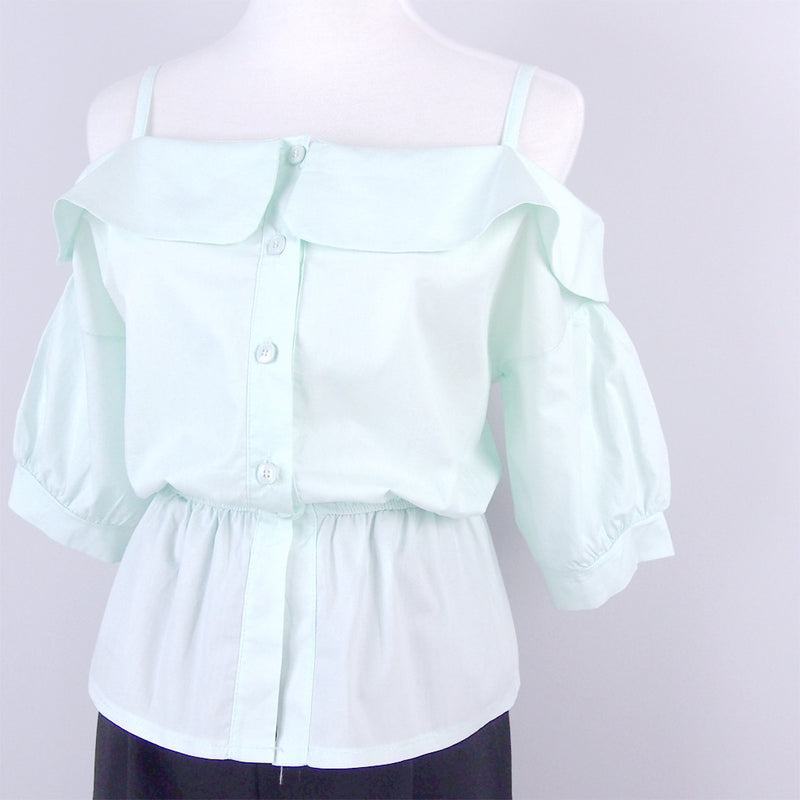 Bernice Cold Shoulder Top