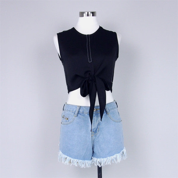 Eleanor Denim Shorts