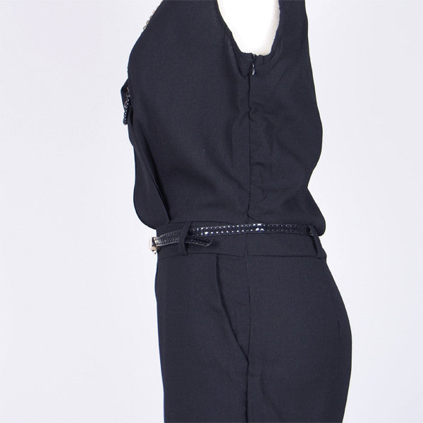 Erin Jumpsuit in Black