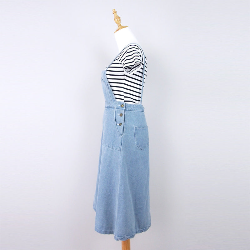 Gillian Denim Pinafore