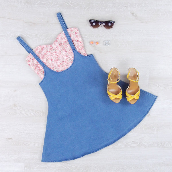 Jemma Denim Pinafore
