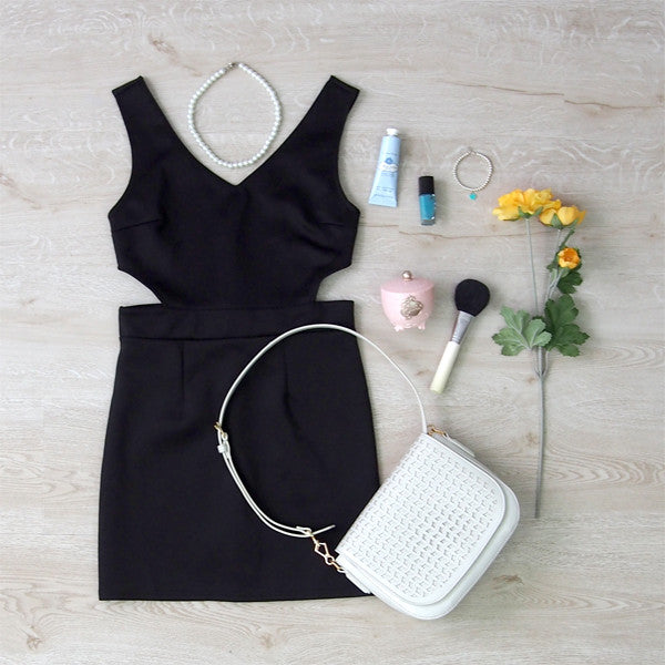 Morgan Cut-Out Dress