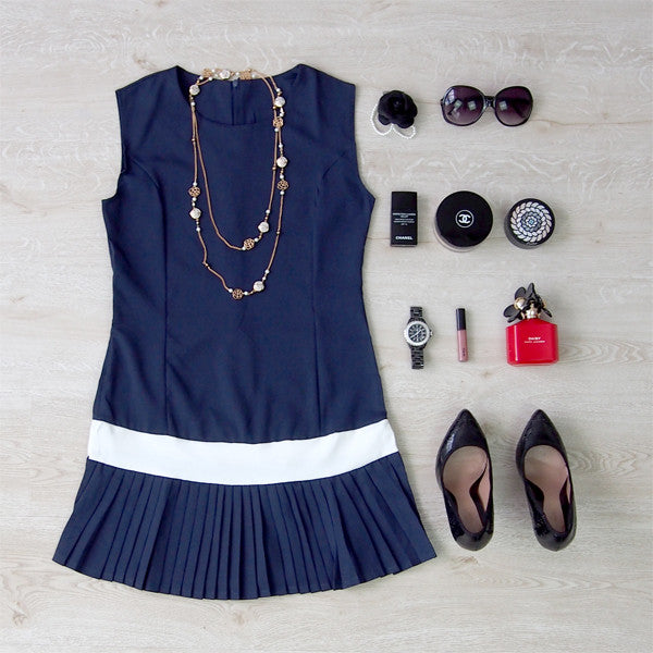 Sydney Pleated Dress