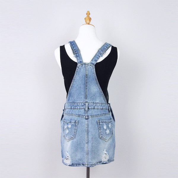 Matilda Denim Pinafore