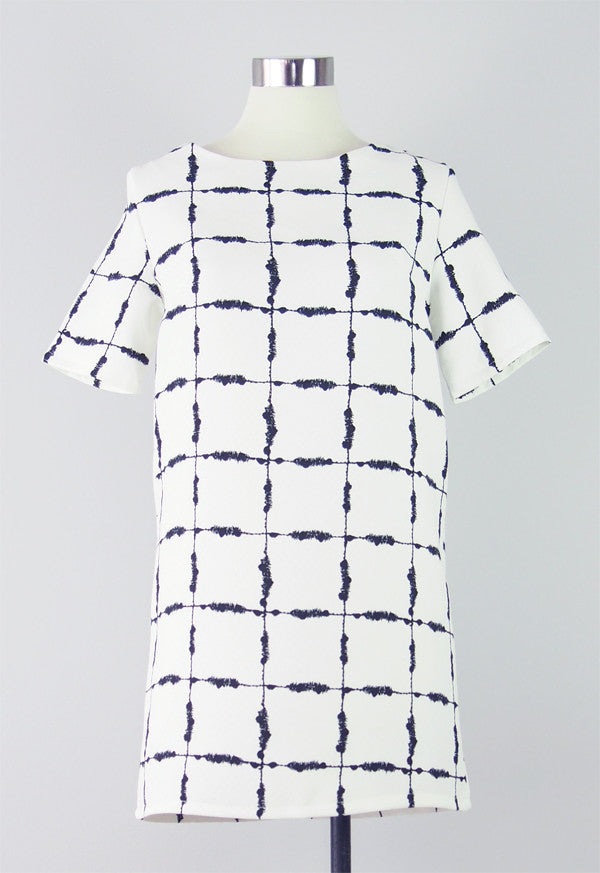 Rachel Checkered Dress