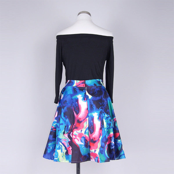 Sena Colorful Skirt