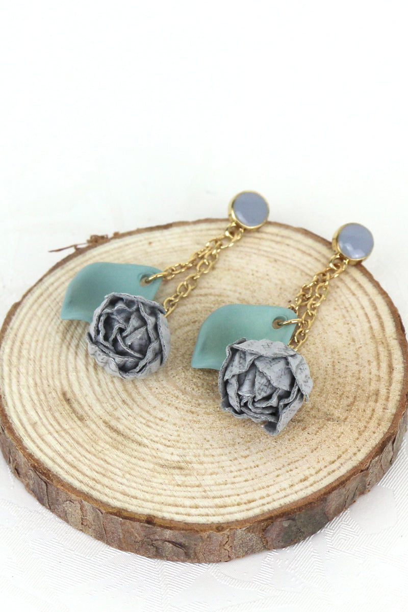 Giselle Floral Drop Earrings