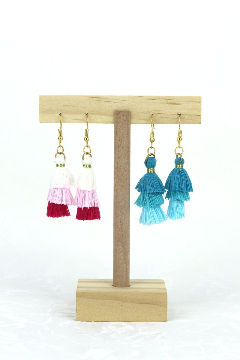 Joelle Tassel Drop Earrings