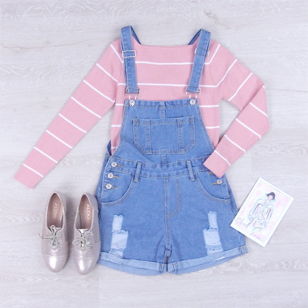 Una Denim Dungaree