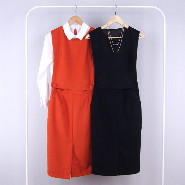 Valentina Pinafore Suit