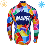 maillot hiver mapei dos