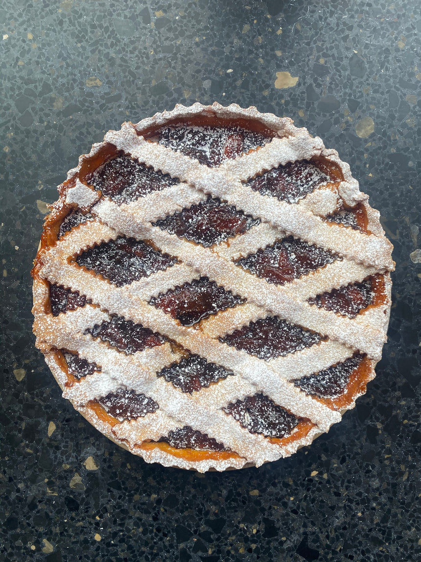 Peach Jam Crostata (24 hours notice)