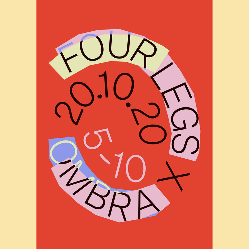 Four Legs x OMBRA Poster