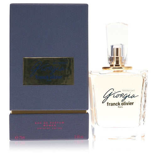 Giorgia Midnight by Franck Olivier Eau De Parfum Spray 75 ml