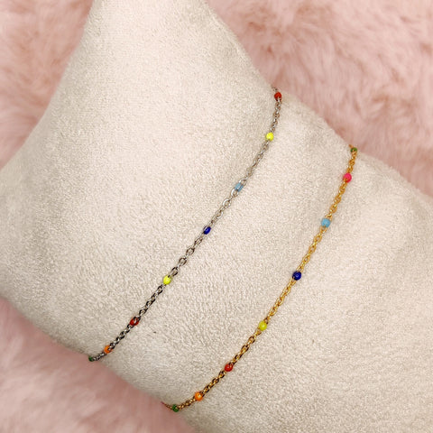 Little rainbow bracelet