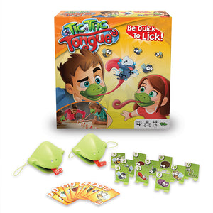 Quick tongue out new table games (Athletic Chameleon)