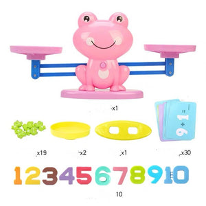 Monkey balance children early digital addition and subtraction toys