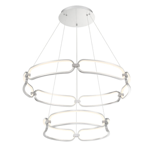 Charmed LED Two-Tier Chandelier .