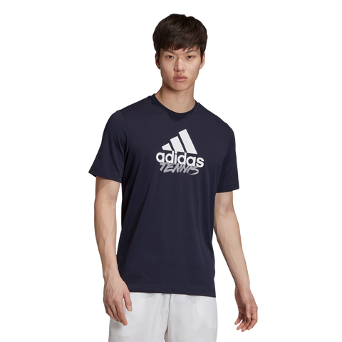 Adidas Tennis Category Tee Ink