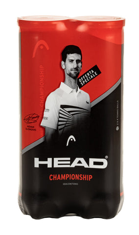 HEAD Championship 4 Ball Tube (Double-Pack)