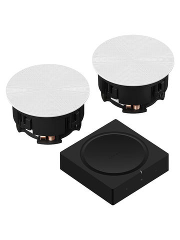 Sonos Amp + In-Ceiling Speaker Package