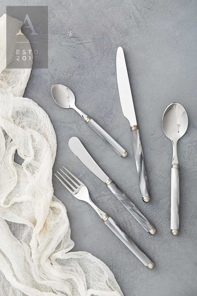 IDIS GREY PEARL FLATWARE COLLECTION