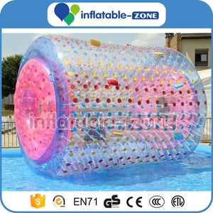 Best sale inflatable water roller, water game, inflatable water rolling tube Inflatable Zone TM
