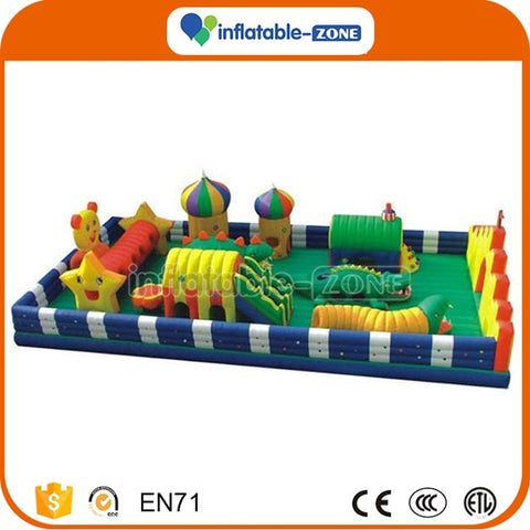 inflatable play field,trampoline inflatable,inflatable water park